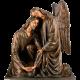 3251 - Angel con Cristo 132x117x55
