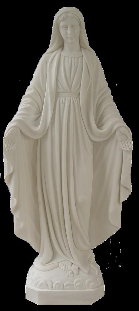 Escultura estatua de la Virgen María