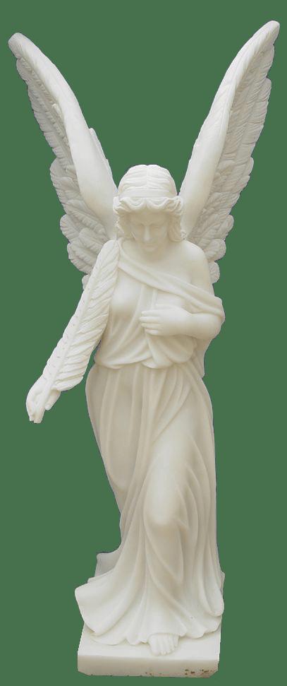 Escultura estatua del Ángel guardián
