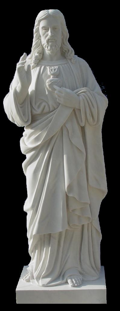 Escultura estatua del Sagrado Corazón de Jesús
