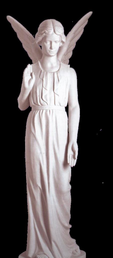 Escultura estatua del Ángel Vigilante