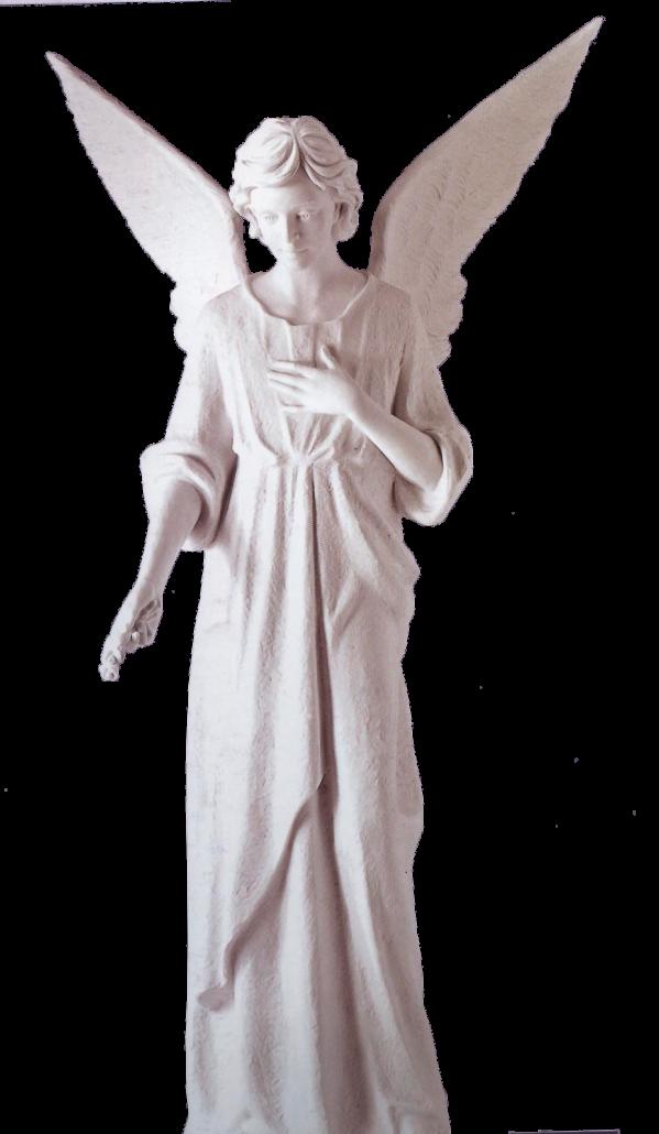 Escultura estatua del Ángel de la guarda