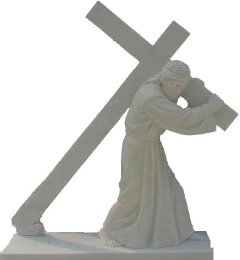 Escultura estatua de Jesús Nazareno