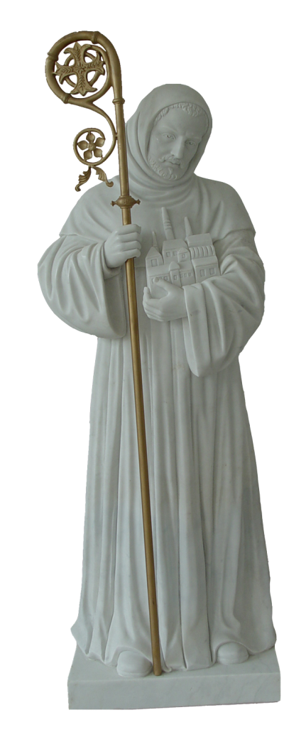 Escultura estatua de San Patricio