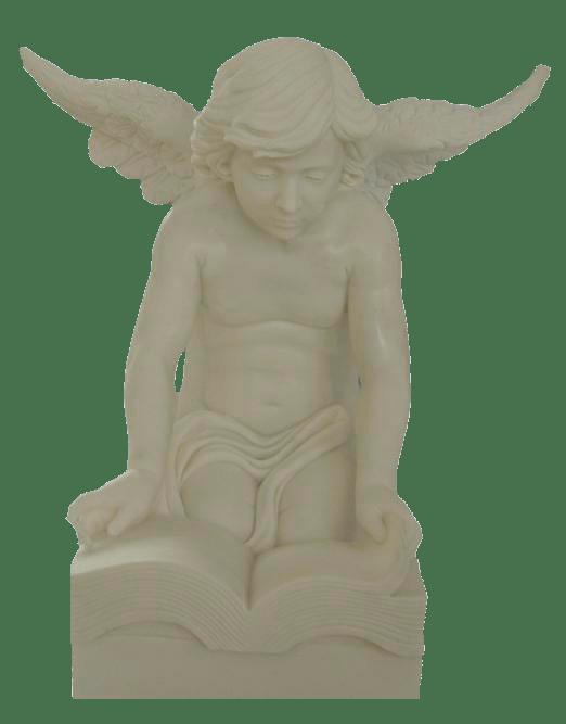 Escultura estatua del Ángel Niño