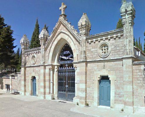 Entrada cementerio de Cuenca
