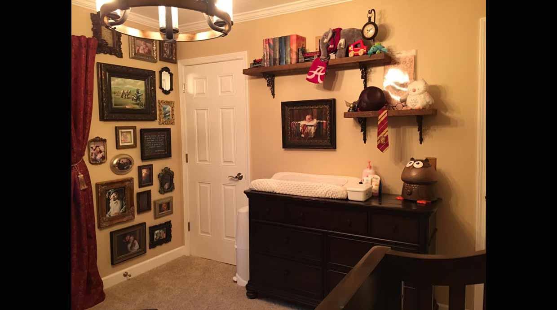 Harry potter inspira esta m gica habitaci n de bebe for Harry potter cuartos decoracion