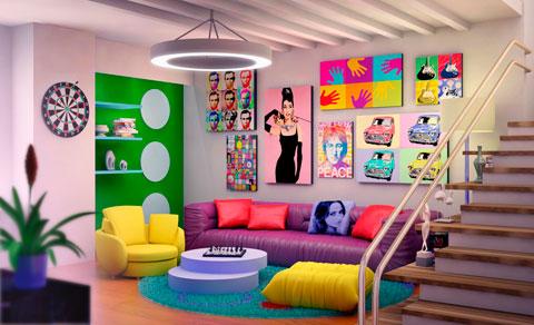 Cmo lograr una decoracin retro en casa solo con accesorios Grupo