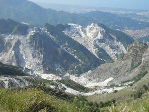 Campocecina en los Alpes Apuanos de Carrara