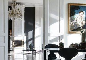 Fusiona un mobiliario moderno
