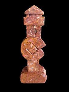 Trofeo realizado en mármol de Buenache